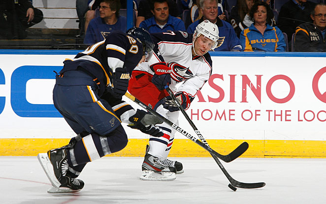 A fully healthy David Perron will mean more firepower for the Blues, who look ready to rule the division.