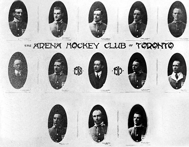 Known as the Arenas in 1919, the club sells most of its players to cover mounting debts and manages a five-win season.
