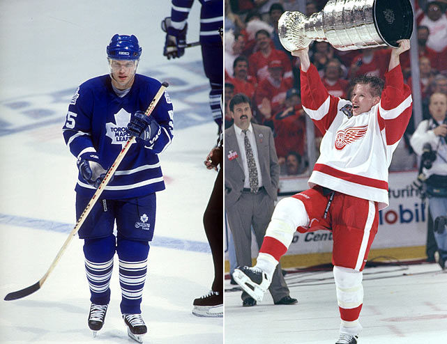 Blame the fans for this one. When the Leafs obtained All-Star defenseman Larry Murphy, a two-time Cup-winner in Pittsburgh, he becomes an unnecessary scapegoat for the club's malaise in the mid-90s. Fans boo him every time he touches the puck, until Leafs management has to trade him in 1997 for his own well-being and even pick up a third of his salary. Murphy lands in Detroit,pairs with superstar backliner Nick Lidstrom, wins two more Cups and enters the Hockey Hall of Fame.
