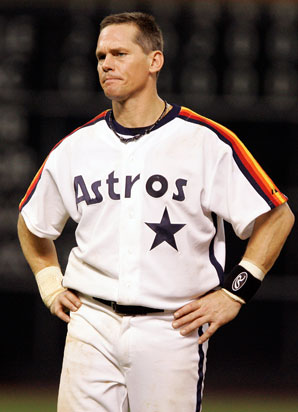 Despite amassing more than 3,000 career hits, Craig Biggio fell 39 votes short of election to the Hall of Fame on his first try.