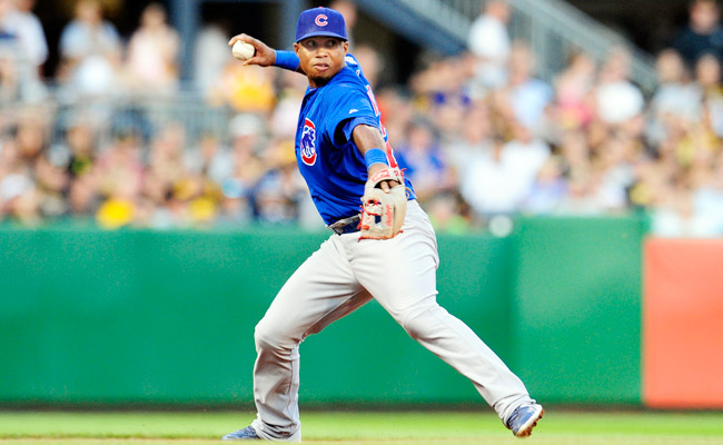 Luis Valbuena hit .219 in 90 games with the Cubs in 2012.