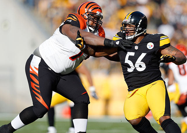 The No. 6 pick in 2009, Andre Smith has proven himself to be an asset at offensive tackle for the Bengals. Whether Cincinnati can convince him to stay remains to be seen.