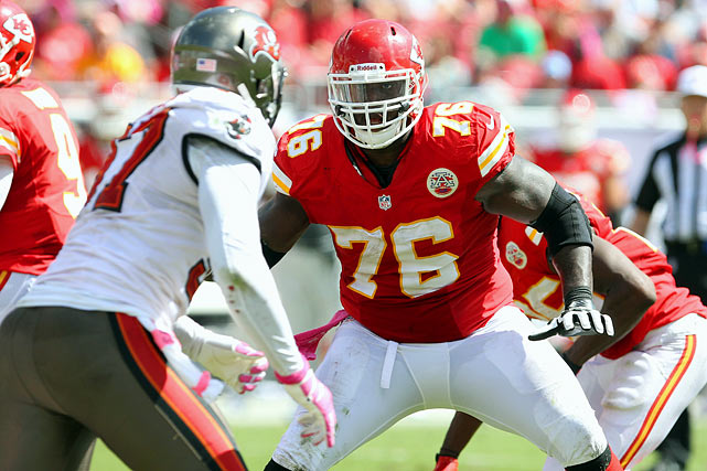 New coach Andy Reid has a lot of decisions to make this off-season, including whether or not the Chiefs should re-sign offensive tackle Branden Albert. Albert, despite some back problems, has proven to be a solid member of the Kansas City offensive line.