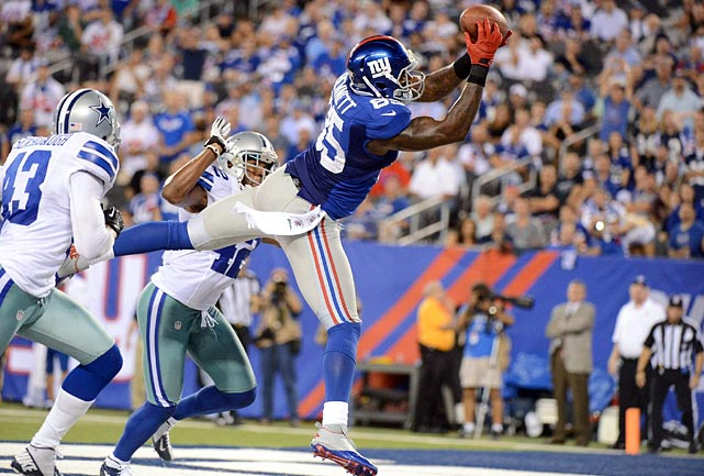 After just 17 receptions in 2011, tight end Martellus Bennett exploded for 55 catches and 626 yards this year, his first with the Giants. Bennett has said he wants to stay in New York, but he is still waiting to begin negotiations with the organization.