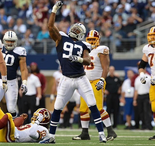 The Dallas Cowboys linebacker had the best year of his six-year NFL career this season, recording 11 sacks, two forced fumbles and 95 tackles. Teams will have to weigh whether Anthony Spencer can continue that level of production when making their contract offers.