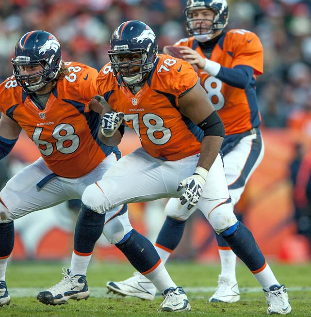 Peyton Manning's tough task of returning from neck surgery was made easier by the fact that he was protected by offensive tackle Ryan Clady. After his impressive season, the 26-year-old will be in high demand.