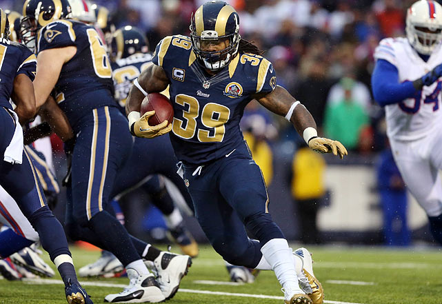 Already 29 and with nine seasons of wear and tear on him, Steven Jackson's age may scare off some potential suitors. On the field, it's hard to see too many signs of slowing as the St. Louis Rams running back amassed 1,363 yards from scrimmage on 295 touches this season.