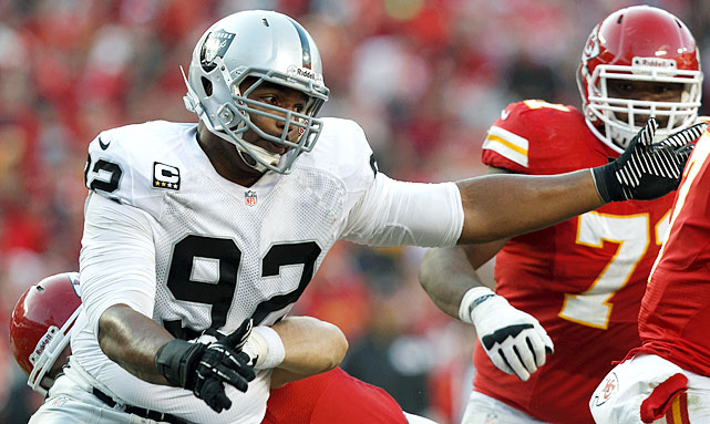 Richard Seymour only appeared in eight games for the Oakland Raiders this season due to a hamstring injury. With the Raiders' eyes toward the future, the 33-year-old defensive tackle likely won't return to the Silver and Black.
