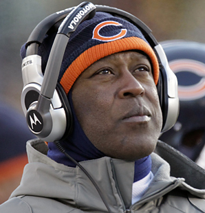 Lovie Smith led the Chicago Bears to three division titles.