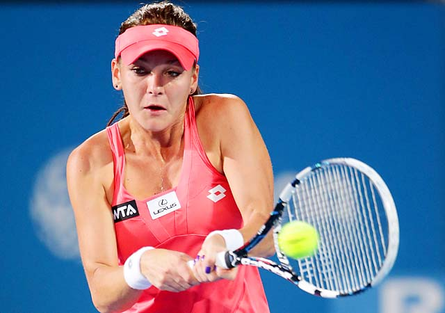 Agnieszka Radwanska heads into the Australian Open as the No. 4 seed.