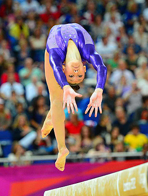 Kyla Ross, a member of the 2012 U.S. women's gold medal-winning gymnastics team, will compete at the American Cup in March.