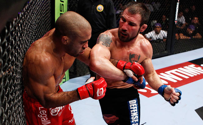 Isaac Vallie-Flagg (right) found out on Jan. 7 that he had been invited to fight in the UFC's Feb. 2 card.