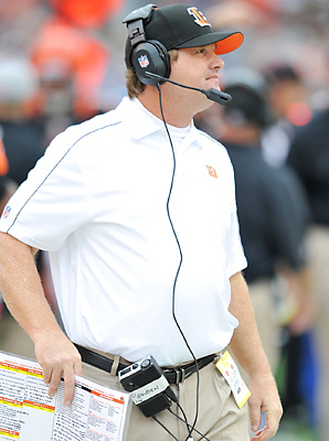 Jay Gruden helped the Bengals to two playoff appearances in his two years in Cincinnati.
