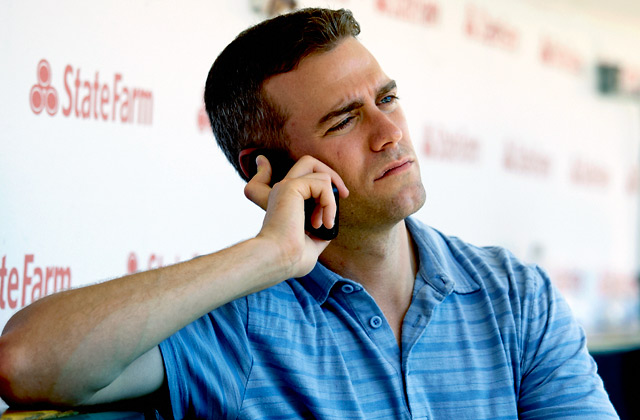 When Theo Epstein talks to players about the Cubs, he sells them on the chance to turn things around.