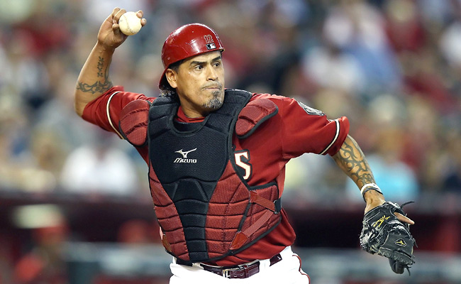 Henry Blanco played in 21 games for the D-backs in 2012 and hit .188 with one homer and seven RBIs.
