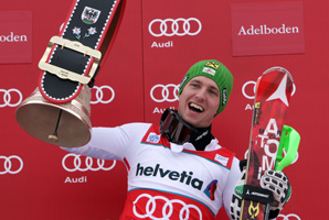 Marcel Hirscher, the overall World Cup leader, has won three slaloms this season.
