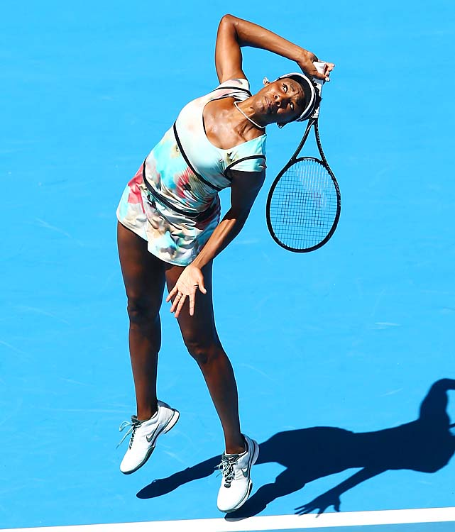 Venus Williams needed just an hour for her opening 6-1, 6-0 win over Galina Voskoboeva of Kazakhstan.