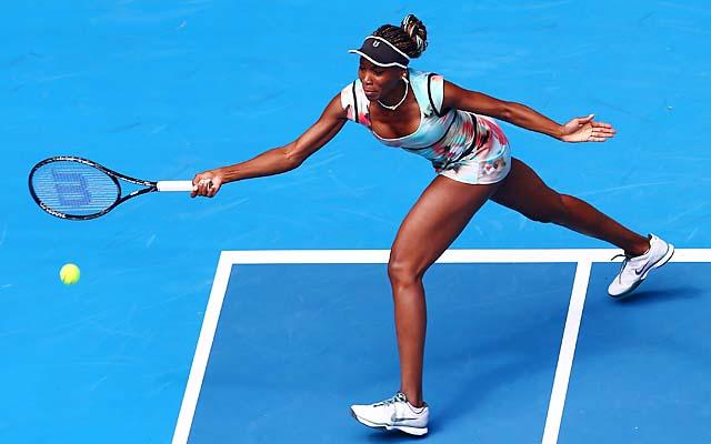 No. 25 Venus Williams will face Alize Cornet in the second round.