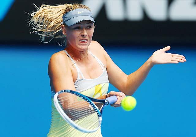 No. 2 Maria Sharapova will face Misaki Doi in the second round.