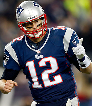 Tom Brady is 8-6 in the playoffs since the Patriots last won a Super Bowl.