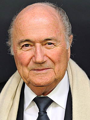 Sepp Blatter said a decision on the 2022 World Cup would not be made until after the '14 tournament in Brazil.