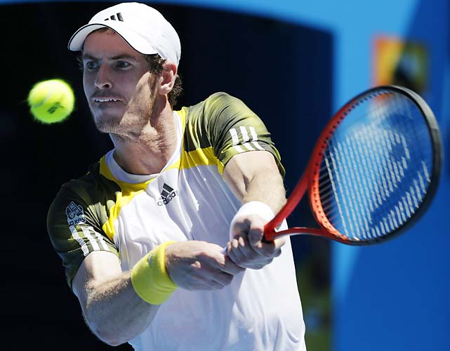 No. 3 Andy Murray beat Robin Haase 6-3, 6-1, 6-3 and will get Joao Sousa in the second round.