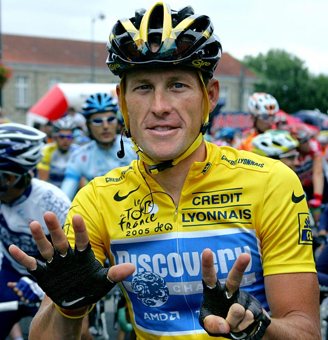 After a decade of denial, Lance Armstrong confessed in a tv interview with Oprah Winfrey that he used performance-enhancing drugs to win the Tour de France, according to the Associated Press. The confession was a stunning reversal, after years of public statements, interviews and court battles in which he denied doping and zealously protected his reputation. The cyclist was stripped of his Tour de France titles, lost most of his endorsements and was forced to leave his Livestrong foundation last year after the U.S. Anti-Doping Agency issued a damning, 1,000-page report that accused him of masterminding a long-running doping scheme.