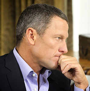 Oprah Winfrey said Lance Armstrong was very prepared for his interview.