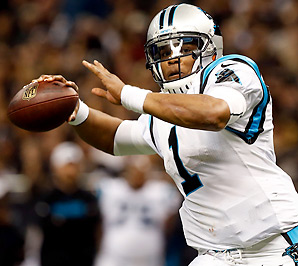 Cam Newton has led the Panthers to 13 wins over the last two seasons.