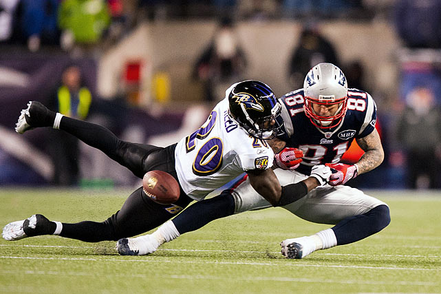 Last week's Broncos-Ravens game may have been exciting, but Ed Reed didn't make the big plays he usually does in the playoffs. Now he will have to limit one of the most dangerous pass-catching tight ends in the NFL. Reed has looked older in his most recent games, and the Pats will need Hernandez to produce without the presence of Rob Gronkowski.