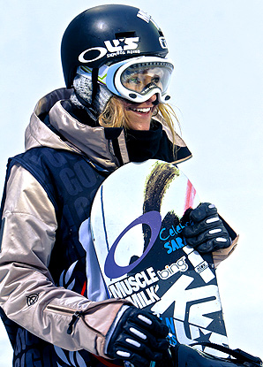 Seven months after shattering her eye socket in a freak accident, Gretch Bleiler will compete in the Winter X Games.