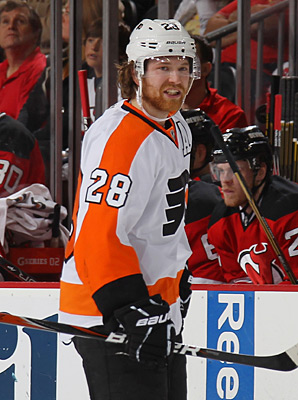 Claude Giroux will be the 19th team captain in Flyers' history.