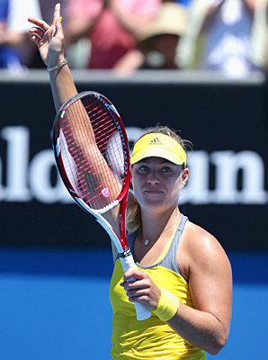 Angelique Kerber took out Lucie Hradecka 6-3, 6-1 on Wednesday.