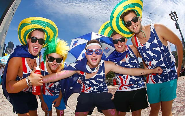Australian fans don't have much to cheer about anymore as almost all of their players have been eliminated.