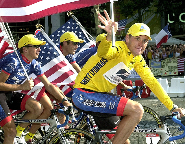 Armstrong continued his dominance and secured his third Tour de France victory.