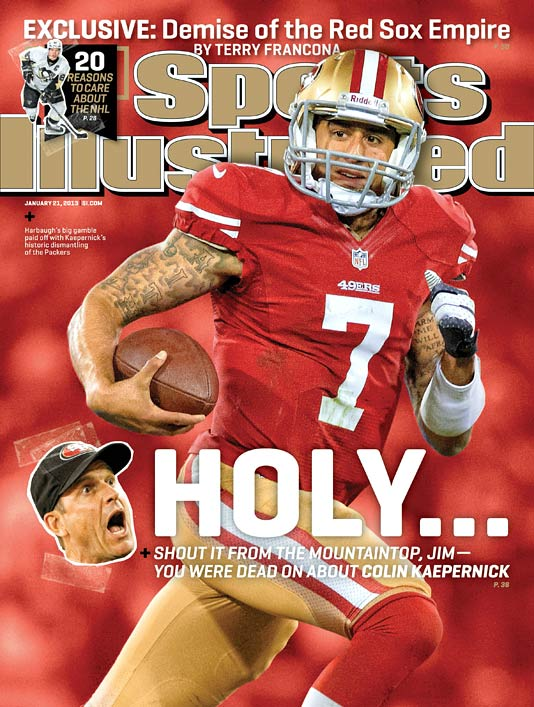 After an awe-inspiring game against the Packers, Colin Kaepernick is the real deal, writes Austin Murphy. Murphy examines why Kaepernick has been able to thrive so well in the San Francisco offense and looks at just how far the 49ers can go this year. (Check out SI's web version of the magazine.)