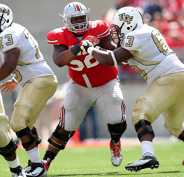 After dropping more than 20 pounds following his freshman year, Johnathan Hankins has played his way into an elite draft prospect. With 122 tackles, 15 tackles for loss and four sacks over the past two years, Hankins will likely go in the mid-first round.