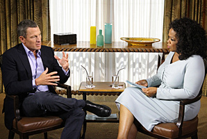 """I'm a flawed character,"" admitted Lance Armstrong during his interview with Oprah Winfrey."
