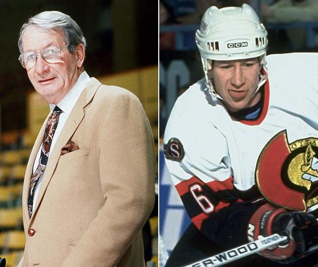 Feb. 9, 1993: Flyers 8, Senators 1 Gord Dineen: 0 PTS <bold>Bill 1, Gord 0</bold>