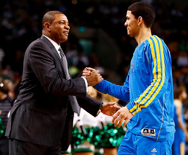 Jan. 16, 2013: Hornets 90, Celtics 78 Austin Rivers: 3-6 FG, 2-4 FT, 1 Ast, 8 Pts <bold> Austin 1, Doc </bold>0