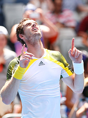 Andy Murray got past Joao Sousa 6-2, 6-2, 6-4 on Thursday.