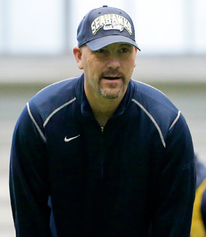 Gus Bradley was with the Seahawks from 2009 until 2012.