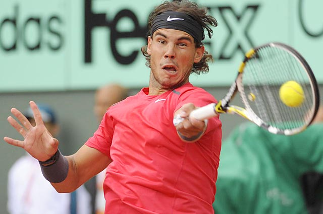 Rafael Nadal has fallen behind David Ferrer in the ATP rankings and out of the top four.