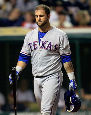 Mike Napoli had originally agreed to a three-year, $39 million contract with Boston,