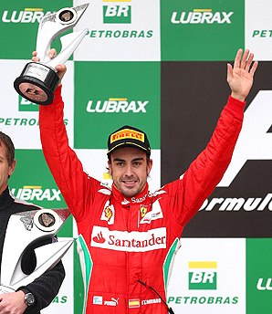 Fernando Alonso lost the 20120 Formule One championship on the final day to Sebastian Vettel by three points.
