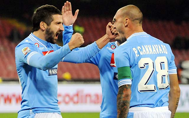 Paolo Cannavaro, the younger brother of Fabio Cannavaro, had been banned six months.