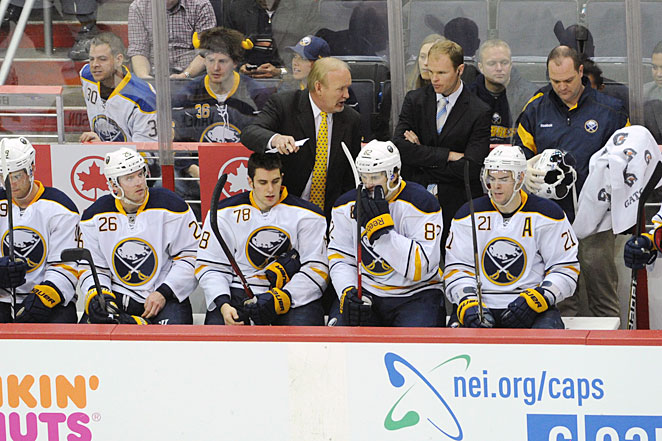 Buffalo Sabres coach Lindy Ruff has mostly the same players to work with, which is a big advantage.