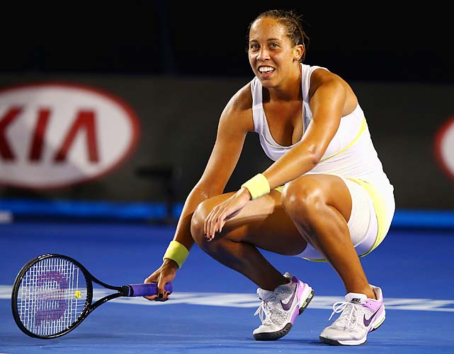 Madison Keys, 17, will move into the top 100 after the Australian Open.