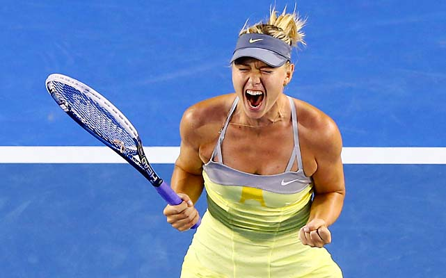 No. 2 Maria Sharapova beat No. 25 Venus Williams 6-1, 6-3. She'll face Kirsten Flipkens in round 4.