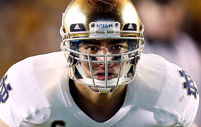 Manti Te'o was expected to be the first inside linebacker to be drafted this year.